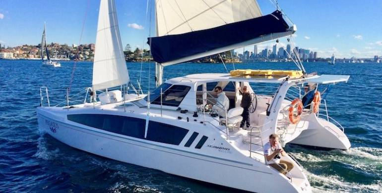RYA Day Skipper Catamaran Program